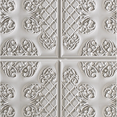 1010 Italian White-Feature wall panel Design