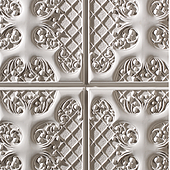 1011 Aged White-Feature wall panel Design