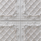 1020 Italian White-Feature wall panel Design