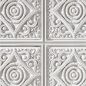 1050 Italian White-Feature wall panel Design