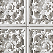 1070 Italian White-Feature wall panel Design