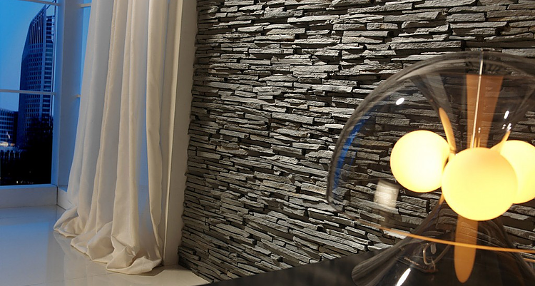 Pizarra Alpes Panel-Feature wall panel Design
