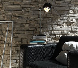Baztan Stone Panels-Feature wall panel Design