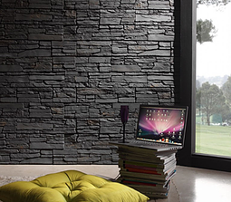 Laja Gallega Stone Panels-Feature wall panel Design