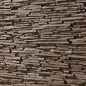 PR-441 Brown-Feature wall panel Design