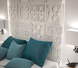 Versalles Vintage Panels-Feature wall panel Design